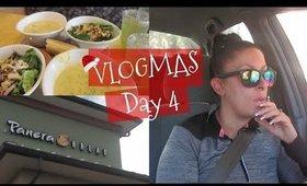 Panera Lunch | Starbucks | Christmas PJ's | VLOGMAS Day 4