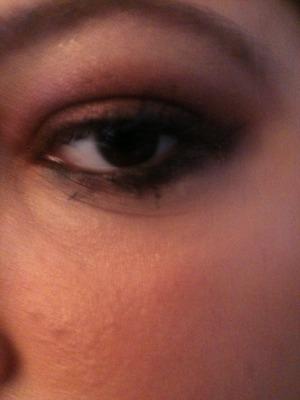 Rusty burgundy bronze eye