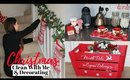 Saturday Clean With Me & Decorating For Christmas | DIY Poundland Garland
