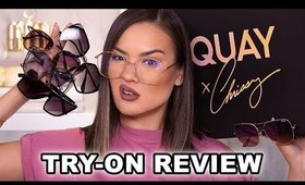 QUAY X CHRISSY TEIGEN SUNGLASSES COLLECTION REVIEW | Maryam Maquillage