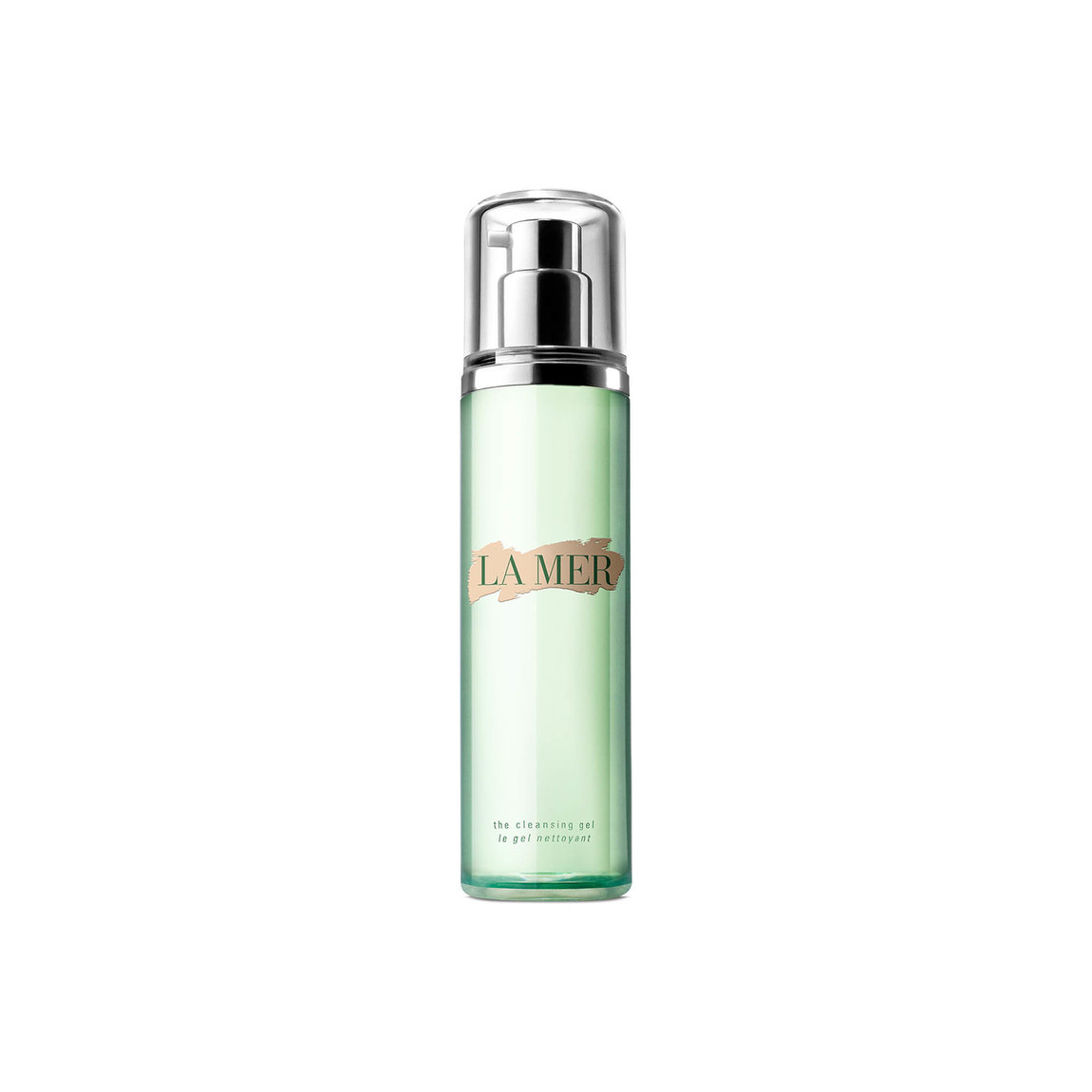 La Mer The Cleansing Gel product smear.
