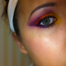 close up of eye, BH Palette Sugar Pill!