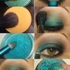 Gliitery Eye Makeup