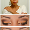 Soft Orange Smokey Eye Look