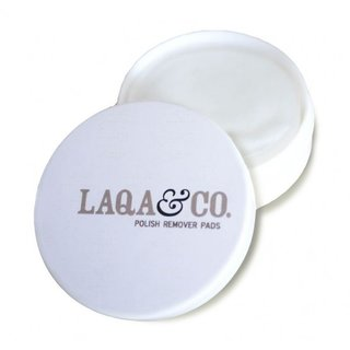 LAQA & Co. Polish Remover Pads