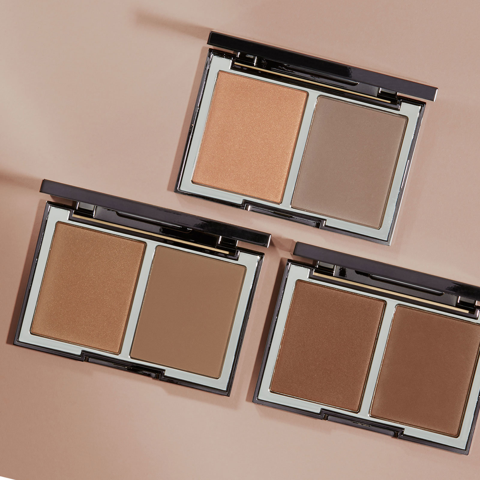 Alternate product image for The Radiance Boosting Face Palette Collection shown with the description.