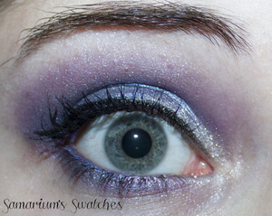 My eye looking freaked out haha I like this eye look though.  http://samariums-swatches.blogspot.com/2011/12/sephora-metallize-palette-swatches-eotd.html
