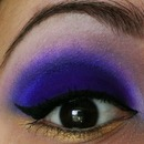 Deep purple eyes