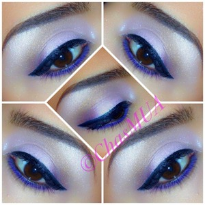 Frost pink from flirt cosmetics purple eyeliner from sephora