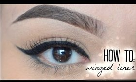 HOW TO: Winged Liner | MakeupByJisel