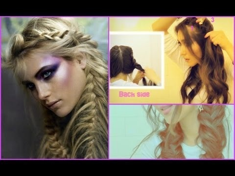 Excellent Fishtail Braid Pigtails Dutch French Braided Updo On Yourself Hairstyles For Men Maxibearus