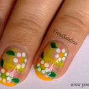 Easter Floral Nails