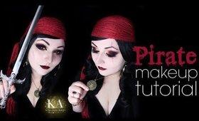 Pirate Halloween Makeup Tutorial