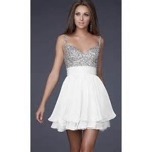 Adorable white an silver dress I found while searching on google