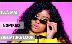 Ella Mai Inspired SIGNATURE Hairstyle! |  Ali Annabelle Brazilian Curly Wig