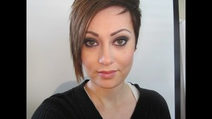 Preppy Goth Makeup