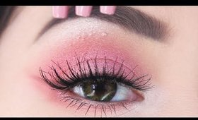 The EASIEST Valentine's Day Makeup you'll see   Kylie Jenner Pink Inspired Makeup Tutorial