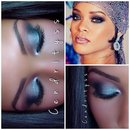 Rihanna Makeup Tutorial CFDA 2014 Awards