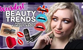 TOP 10 Weirdest Makeup Trends (That you probably forgot about)