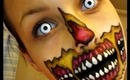 Rotting Zombie Mouth Face Paint Tutorial