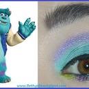 Wearable Monsters University Sulley Eye Look