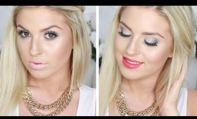 Icy Snow Christmas Inspired Makeup! ♡ Tutorial