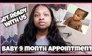 Baby 9 Month Doctors Visit Vlog