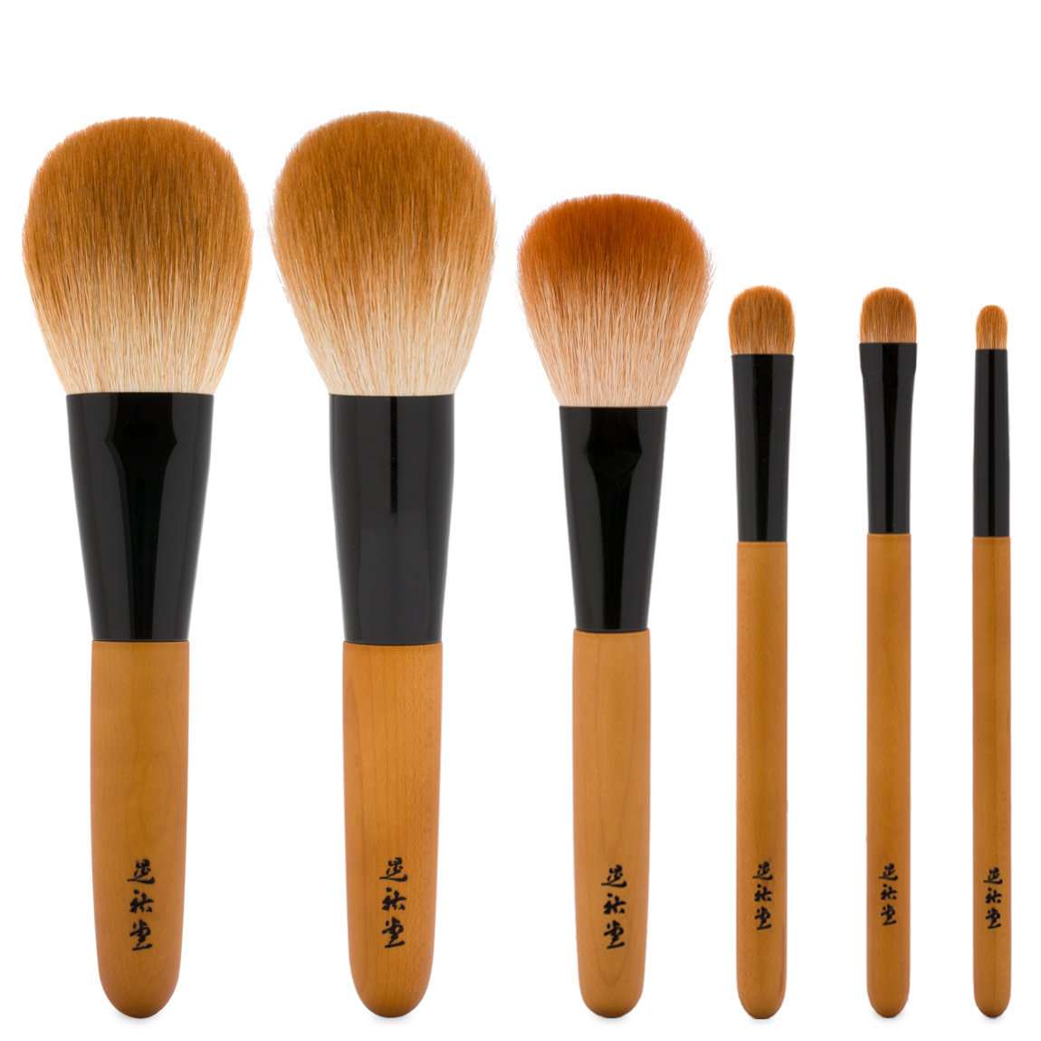 KOYUDO Kakishibuzome Series Brush Set alternative view 1 - product swatch.