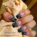 Rock Chick Tattoo nails