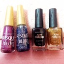 My new babies for the X-Mas mani ;) Happy holidays, yall. x