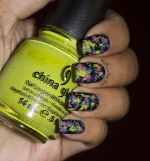 More nail art on http://www.facebook.com/BellezzaBee