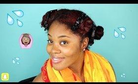 Super Hydrating Wash Day Routine for Natural Hair | Samirah Gilli