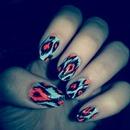 nail art by: me!