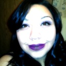 purple lips!