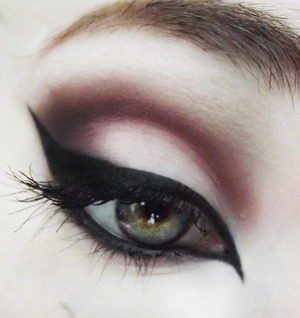 My recent 'go-to' look lately!
