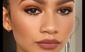 Zendaya Makeup Tutorial   Danielle Tiara