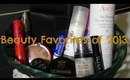 Beauty Favorites of 2013 (Mostly Drugstore)