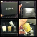 The Gilty Pleasures 18K Real Gold Nail Polish Topcoat Trio Gift Box