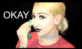 Applying Makeup With A Condom ?!