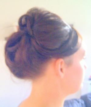 Wedding guest hair up