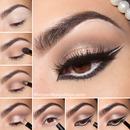 """Wintry Exotic"" Arabic Inspired Eye"
