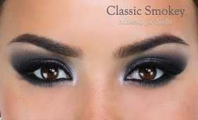 Classic Smokey Eye for Night