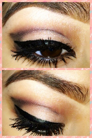Hello! I tried this cut crease for the first time! May not be perfect but I love how it came out!