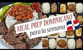 [MEAL PREP No.13] COMIDA para TODA LA SEMANA/ESTILO DOMINICANO/FÁCIL y RÁPIDO recetas/COCINA CONMIGO