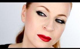 OSCARS Makeup: Solange Knowles Classic Feline Flick