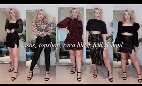 TOPSHOP + ASOS + ZARA: Black Friday Haul 2019