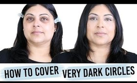 How to Cover Very Dark Circles