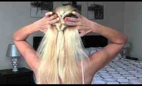 Super Easy Twisted Hairstyle | 5 min Hairstyle | Quick and Pretty Hairstyle | Twisted Ponytails