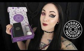 Goddess Provisions Unboxing | Crystal Wisdom | Vegan & Cruelty Free Box!
