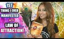 THE 1ST THING I EVER MANIFESTED USING LAW OF ATTRACTION │ WHAT IT WAS & HOW I ATTRACTED IT !